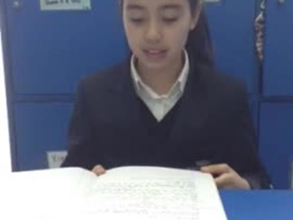Year 6 Talk for writing Clara