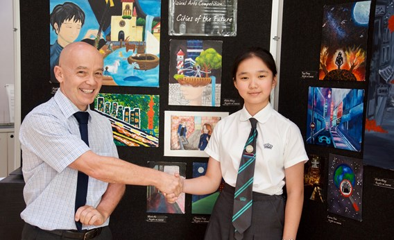 Nord Anglia Young Artist of the Year, Helen Wong
