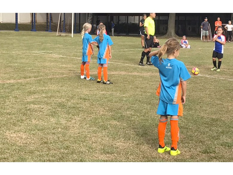 Under 9s Football Lionesses