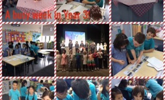 Our penultimate week of learning in Year 3