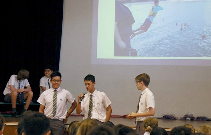 Years 10 - 12 Trip to Tioman Assembly Presentation