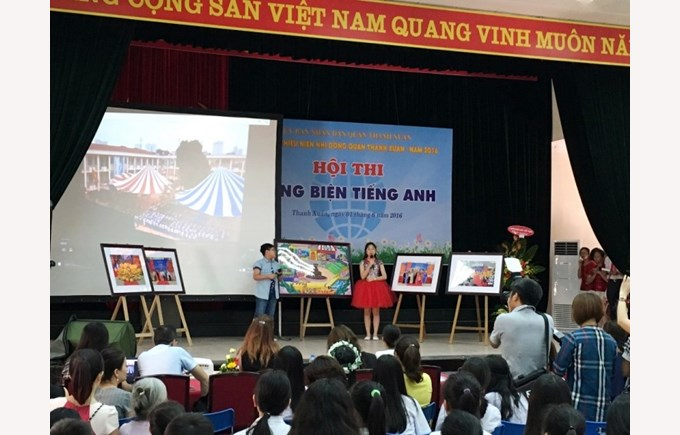 BVIS Hanoi participated in the English Eloquence Competition (3)