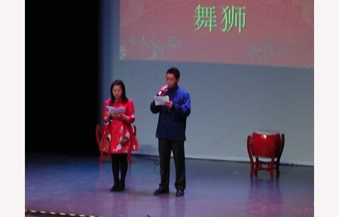 Chinese New Year assembly