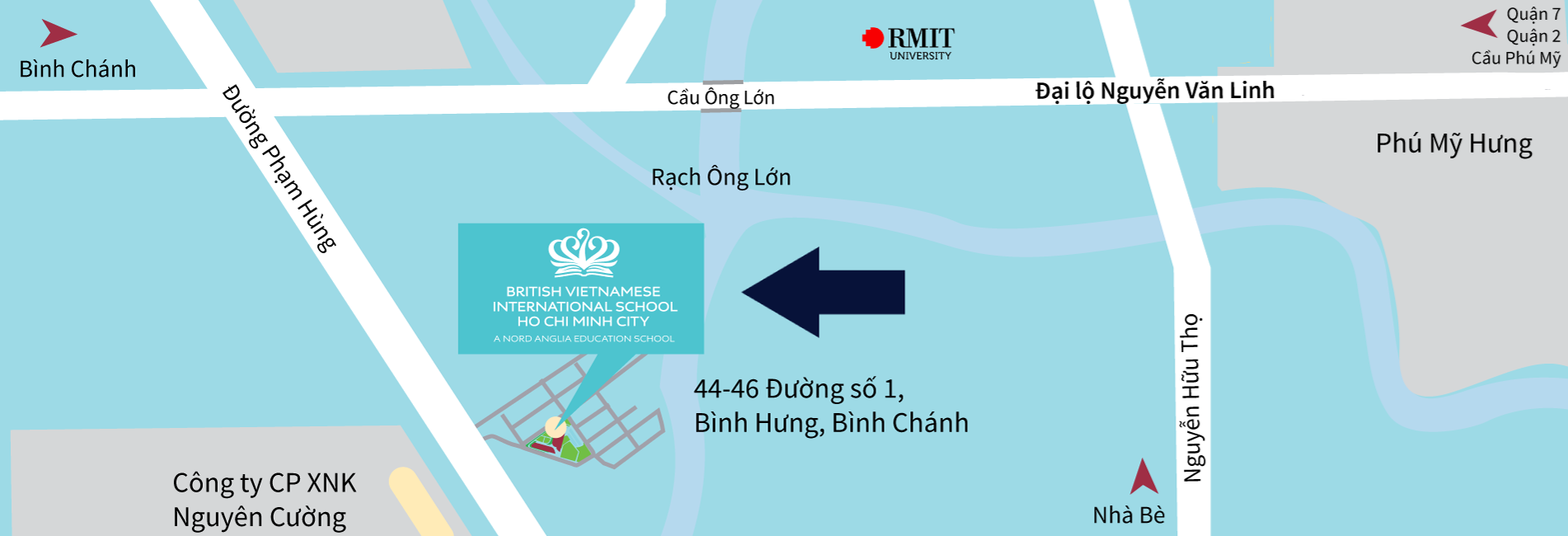 BVIS HCMC School Map