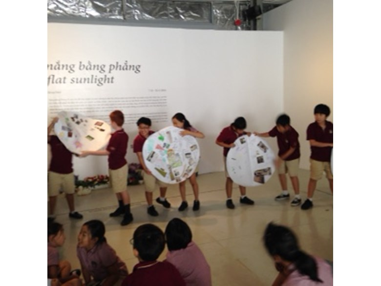 BIS Ho Chi Minh Year 5 and 6 visit a Art anf Science exhibit - 12