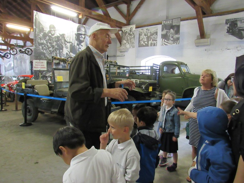 Year 1 transport museum