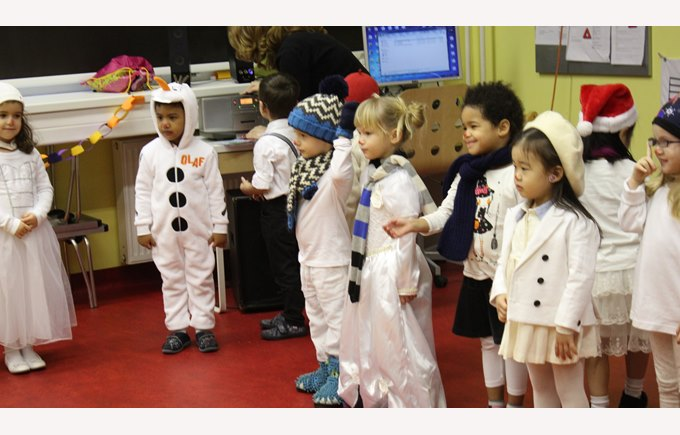 Nursery B winter performance