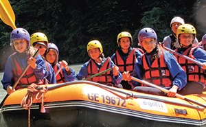 Rafting - Collège du Léman International School of Geneva
