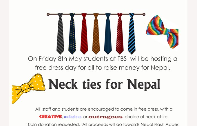 Neck Ties for Nepal