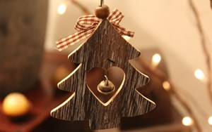 Christmas wooden decor