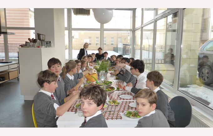 Year 7 visit little chef