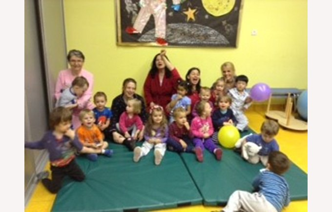 Pyjama Party in Nursery