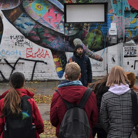 Trip to Berlin October 2019 street art tour graffiti