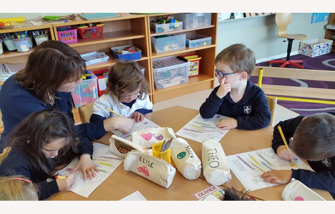 Reading workshops in grade 1