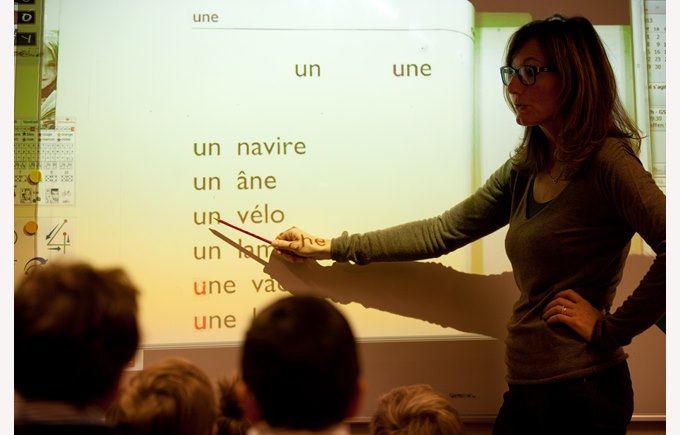 teacher – enseignante