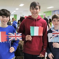 Mother Tongue Language Day 2020 Secondary Language Fair flags