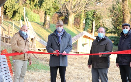Opening of new playgrounds