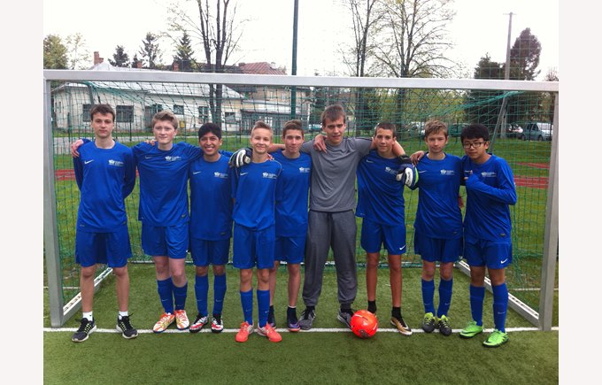 Football team in Poprad
