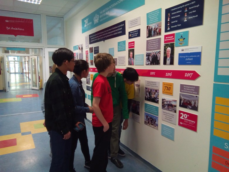 Year 9 investigate the school