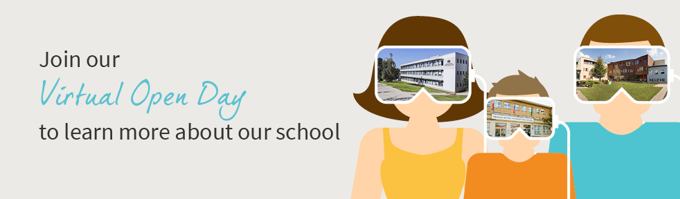 Join our Virtual Open Day to learn more about our school