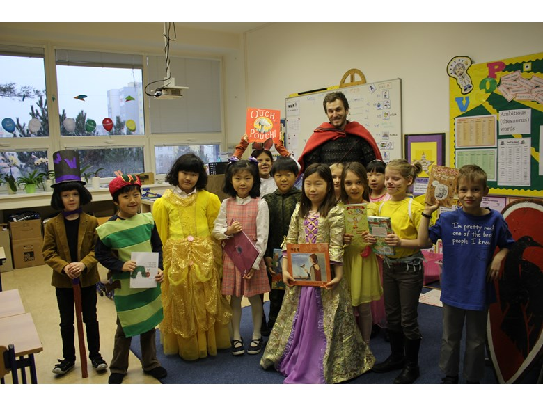 Friday dressup book week