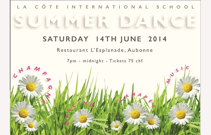 LCIS Summer Dance Advert 2014