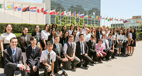 Students at United Nations