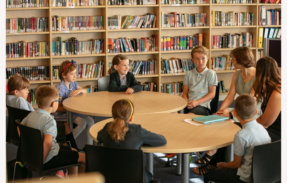 Primary Student Council Library
