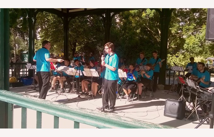 Jazz Band in the park