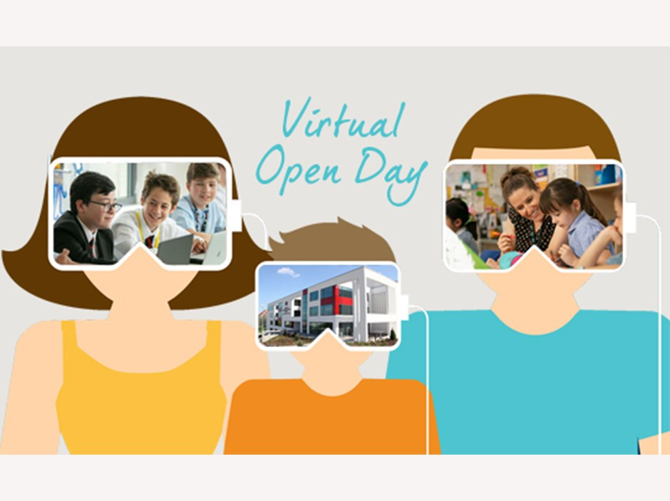 You are welcome to come to our Virtual Open Day
