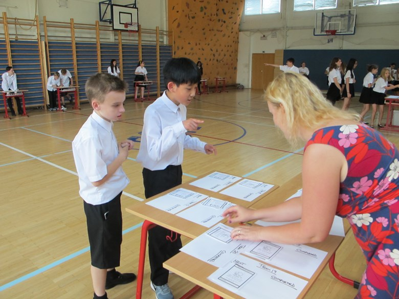 Year 7 Maths Raley race