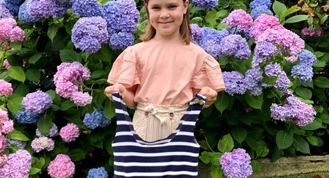 Grade 2 Makerspace shirt bag recycling recycle craft flower
