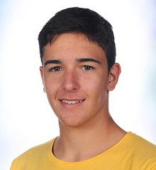 Luis Gonzalez, Year 11 student and champion skier