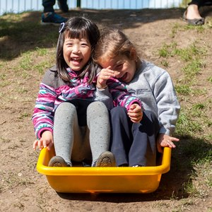 children outside