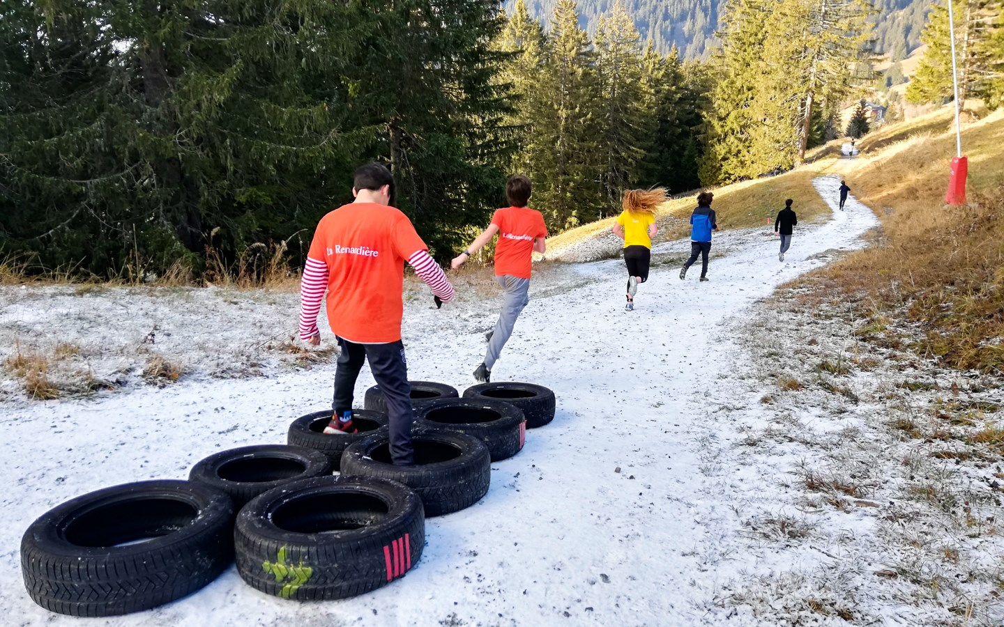 Beau Soleil obstacle course Challenge