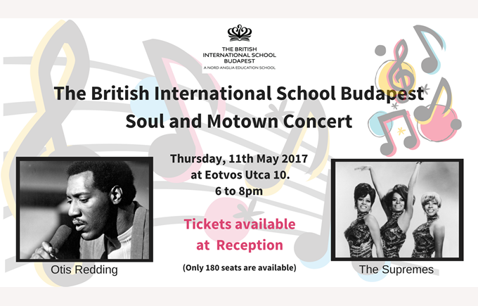 The British International School Budapest Soul and Motown Concert