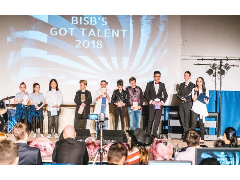 talent show group students