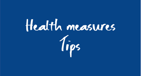 Health measures tips
