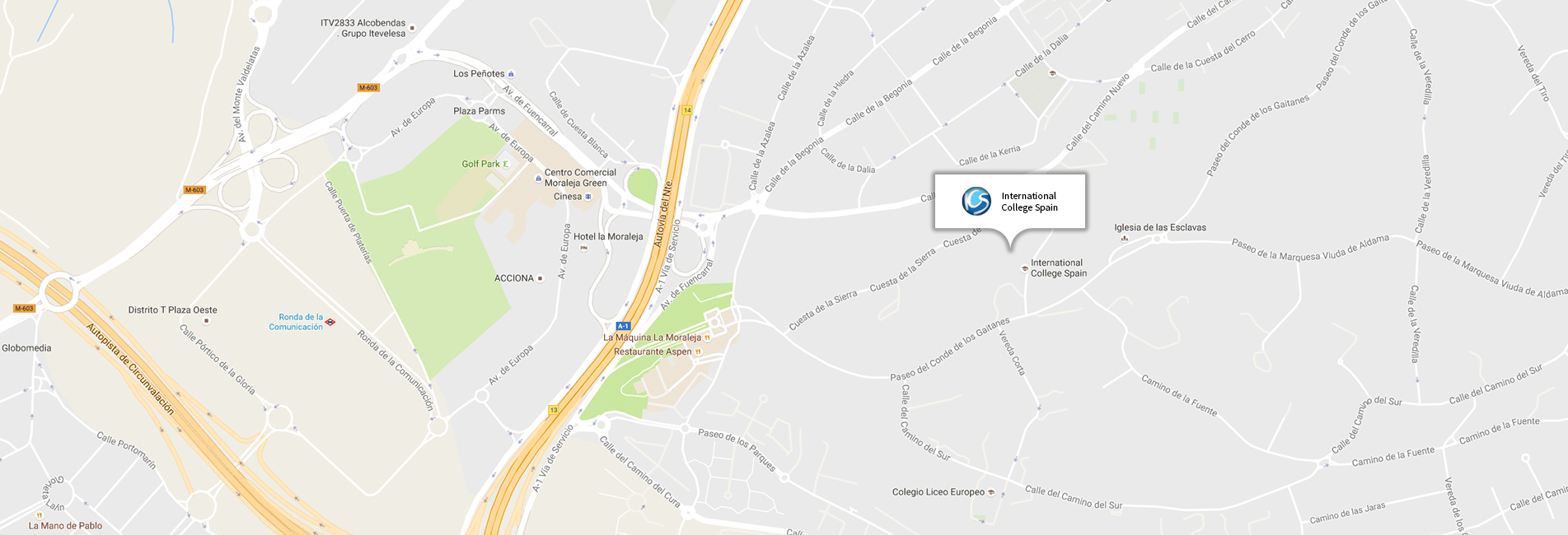 Nord Anglia Education - Spain School Location