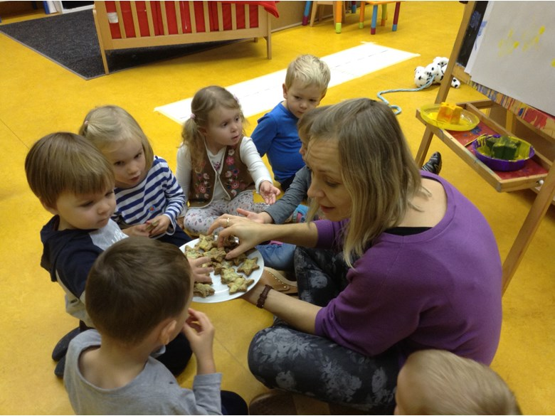 Storytelling in Nursery