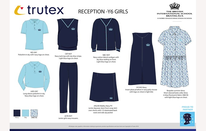 New uniforms Rec- y6 girls