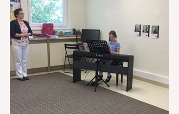 Piano concert at EYC