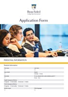 Application form 2021