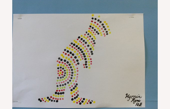 Aboriginal Dot Art - Enrichment