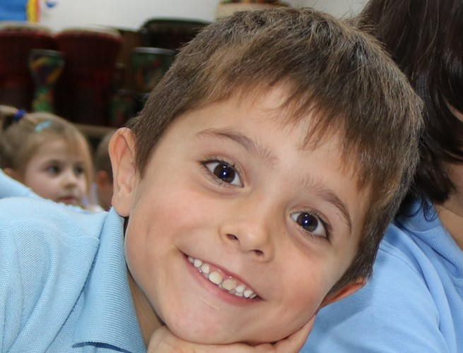 Picture of small boy at British International School Budapest