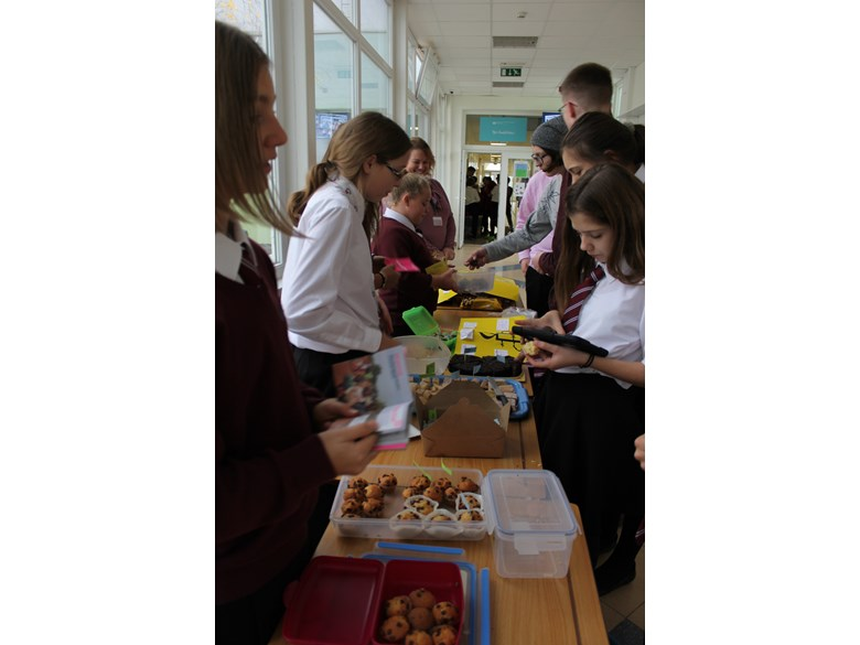 Bake sale Amnesty Int