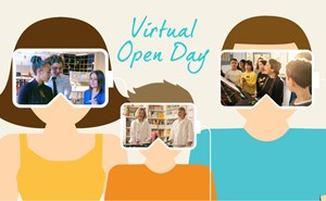 Virtual Open Day - Event Link Image