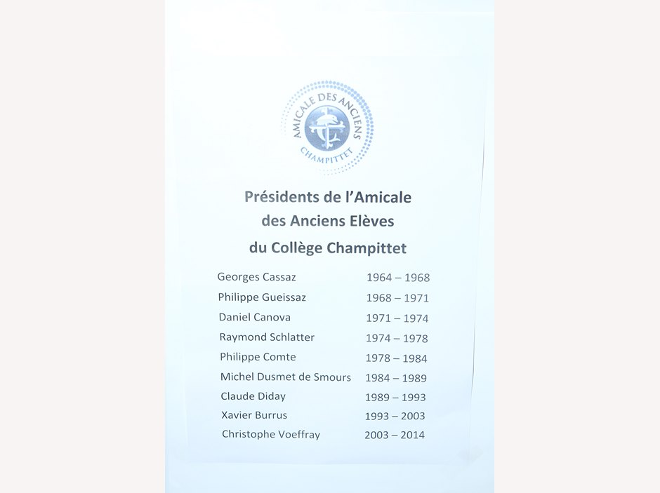 50th anniversary of the Collège Champittet Alumni Association