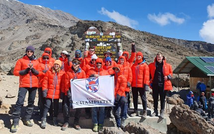 A testimony from Dana Bauer, an English teacher and chaperon on the ascent of Kilimanjaro.