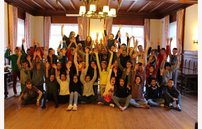 6th graders spent two days at the chalet Les Martinets